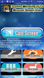 Screen Mirroring TV : Cast phone screen to TV 4.0