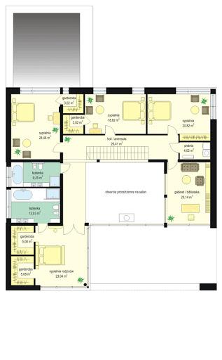 Villa Nova - Rzut piętra