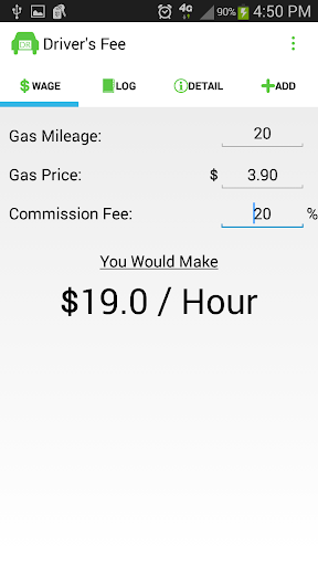 Driver's Fee