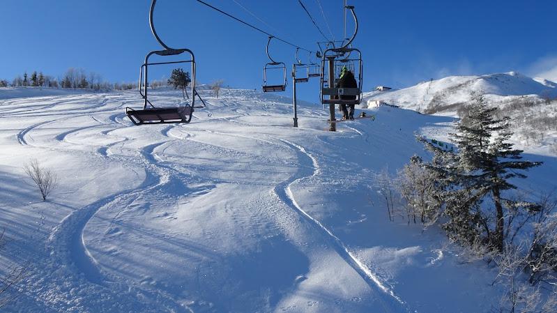 八方尾根スキー場【スカイラインコース】のパウダー