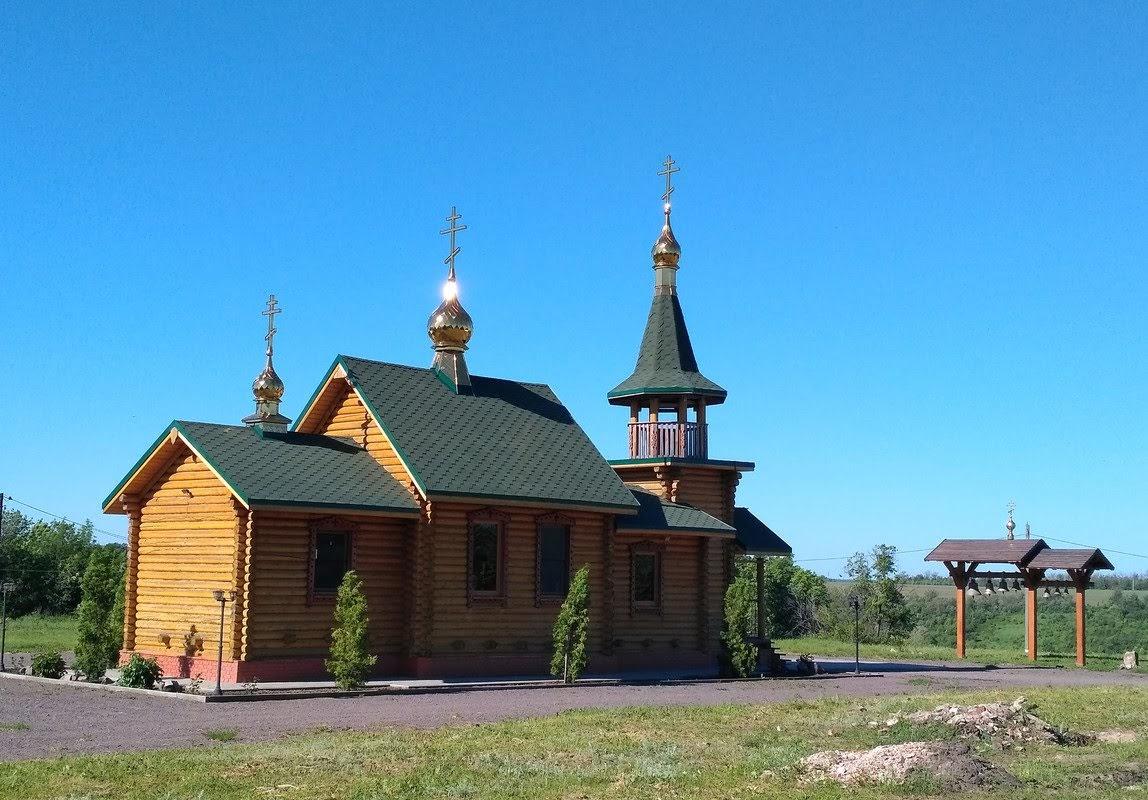 Сейчас от надземных построек монастыря ни чего не осталось. Церковь Спиридона Тримифунтского. Её построили в 2015 году.