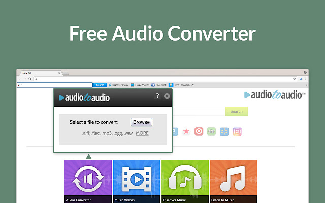 AudioToAudio - for Chrome