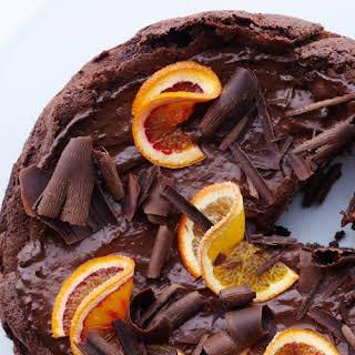 Chocolate-Orange Mousse Cake.