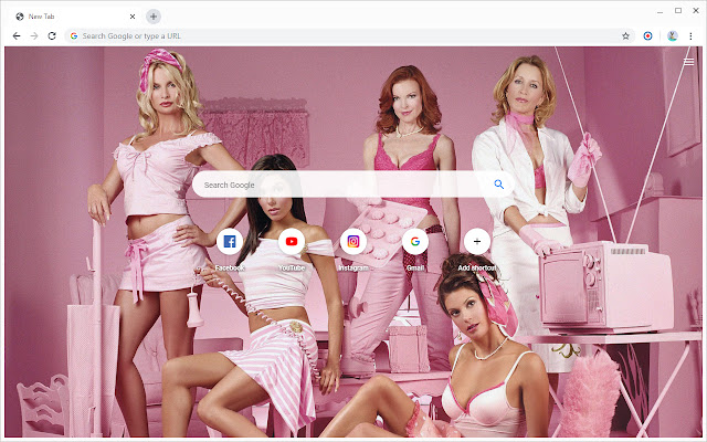 New Tab - Desperate Housewives
