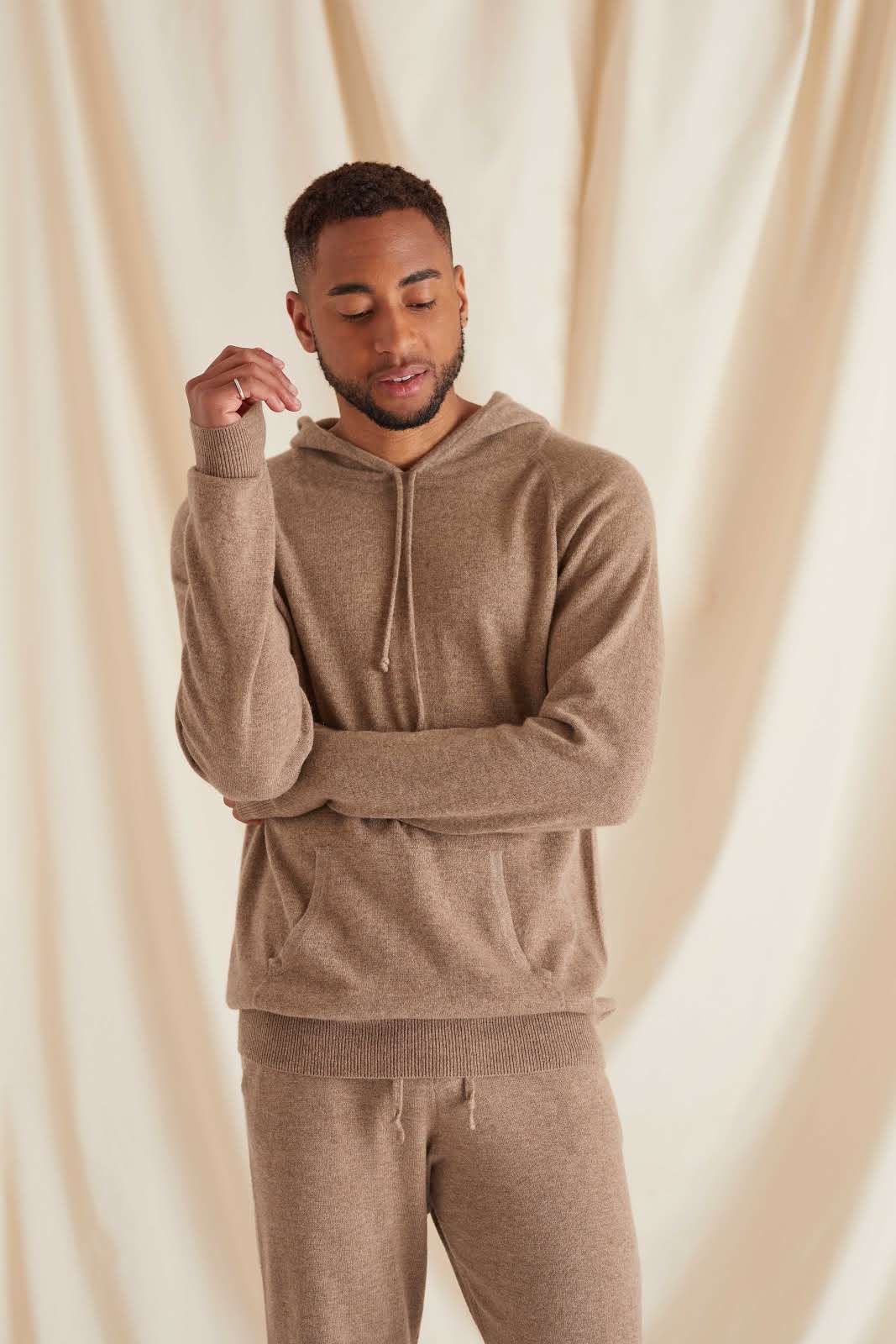 Man Front Pocket Hoodie