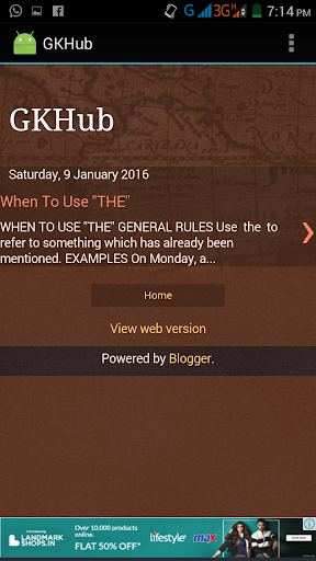 GKHub - General Knowledge Hub