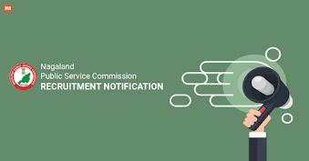 Nagaland Public Service Commission Recruitment Notification