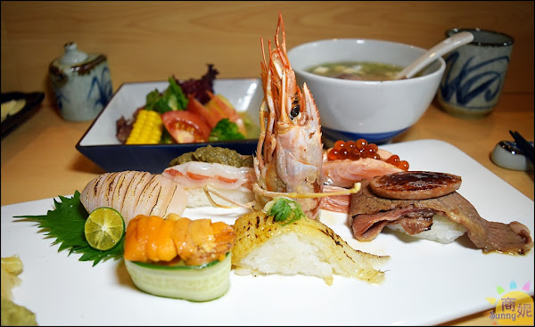 台中高CP值日本料理。本壽司。夏日限定超值極品6貫套餐驚豔新登場!