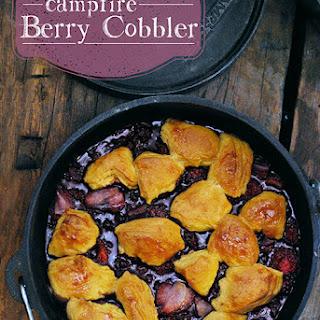 Campfire Berry Cobbler