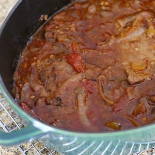 Slow Cooker Italian-Style Round Steak.