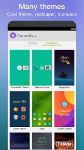 New Launcher 2019 themes, icon packs, wallpapers Screenshot