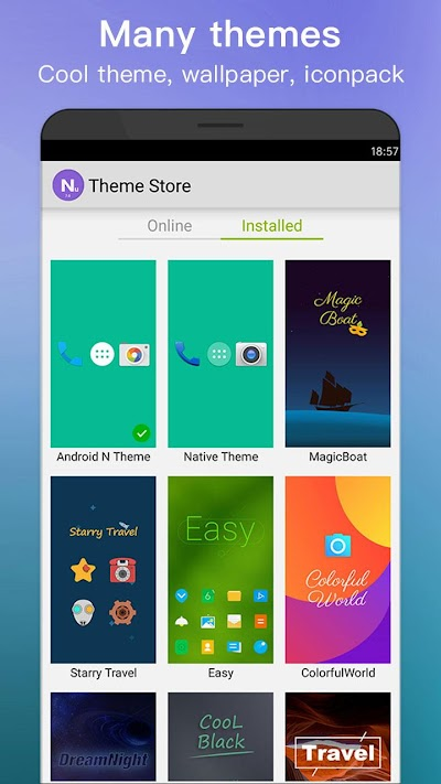 New Launcher 2018 themes, icon packs, wallpapers APK Download