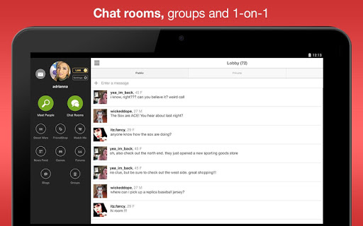 MocoSpace Chat  screenshot 6