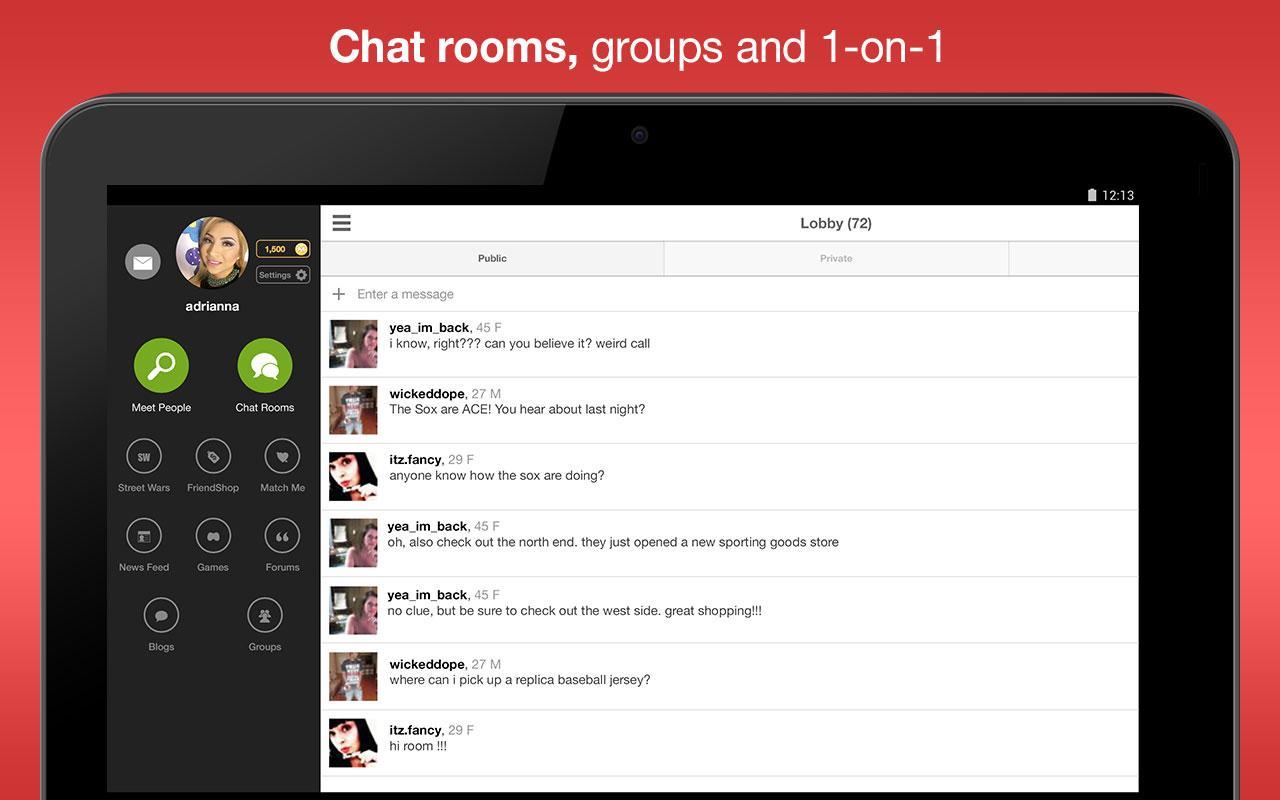 Moco - Chat, Meet People screenshots