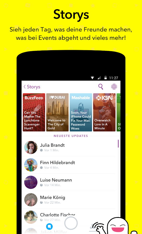 snapchat android apps auf google play. Black Bedroom Furniture Sets. Home Design Ideas