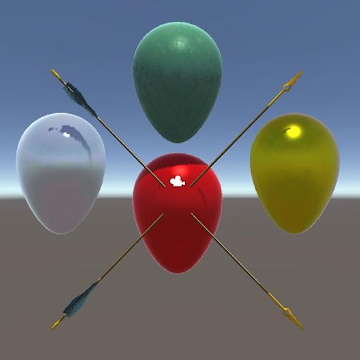 3D Balloon Bow Arrow
