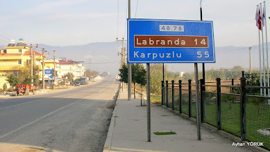 Photo: Karya(Karia) Yolu 7. Etabı - 29.11.2014