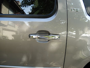 Photo: chrome door handle covers at www.AvalancheAndAccessories.com Buy at http://www.AvalancheAndAccessories.com Buy other auto and truck accessories at: http://www.AutoAccessoriesNow.com