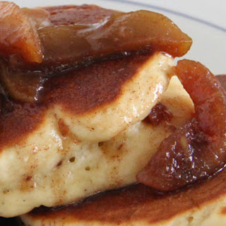 Eggnog Pancakes.