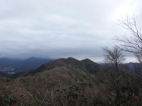 溝干山から高畑山
