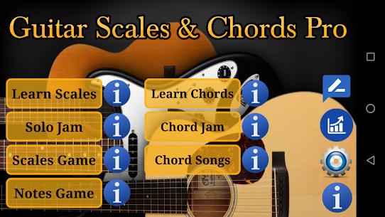 Guitar Scales & Chords Pro v119 MOD APK 1