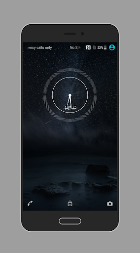 Material Space Theme app for Android screenshot