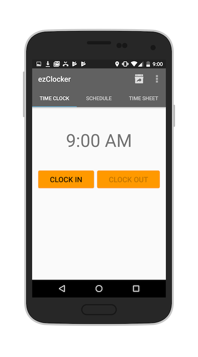 time clock app android