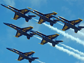 Photo: one of my photos of Blue Angels, I have tons of pictures of Blue Angels......
