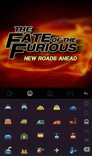 Fate of Furious Keyboard Theme  screenshots 3