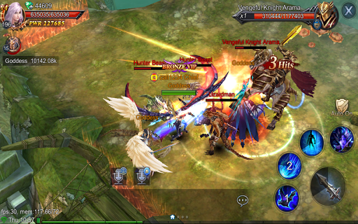 Goddess: Primal Chaos - English 3D Action MMORPG  screenshots 7