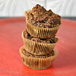 Flourless Hazelnut Carrot and Date Muffins