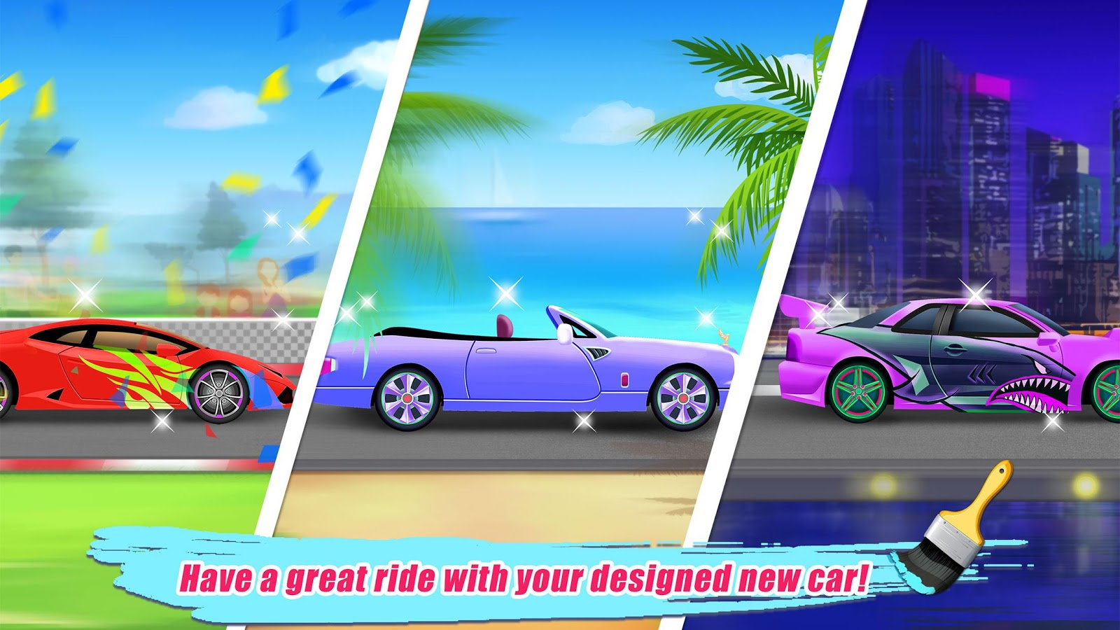Car salon kids game android apps on google play for A final touch salon