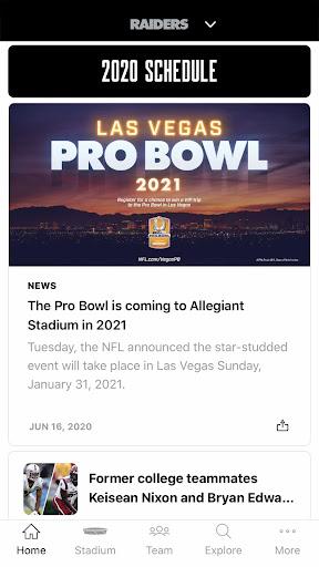 Raiders + Allegiant Stadium screenshot 1