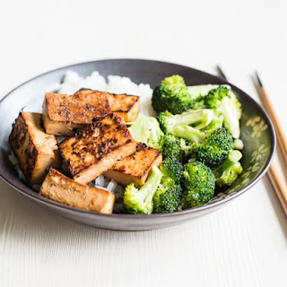 Marinated Tofu.