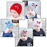 Baby Hat Design Icon