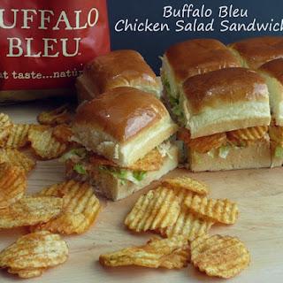 Buffalo Bleu Chicken Salad Sandwiches.