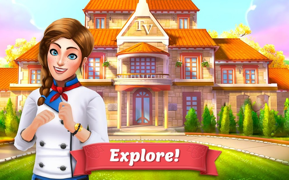 Vineyard Valley: Match & Blast Puzzle Design Game Android App Screenshot