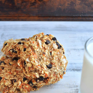 Carrot Cake Breakfast (or snack) Cookies