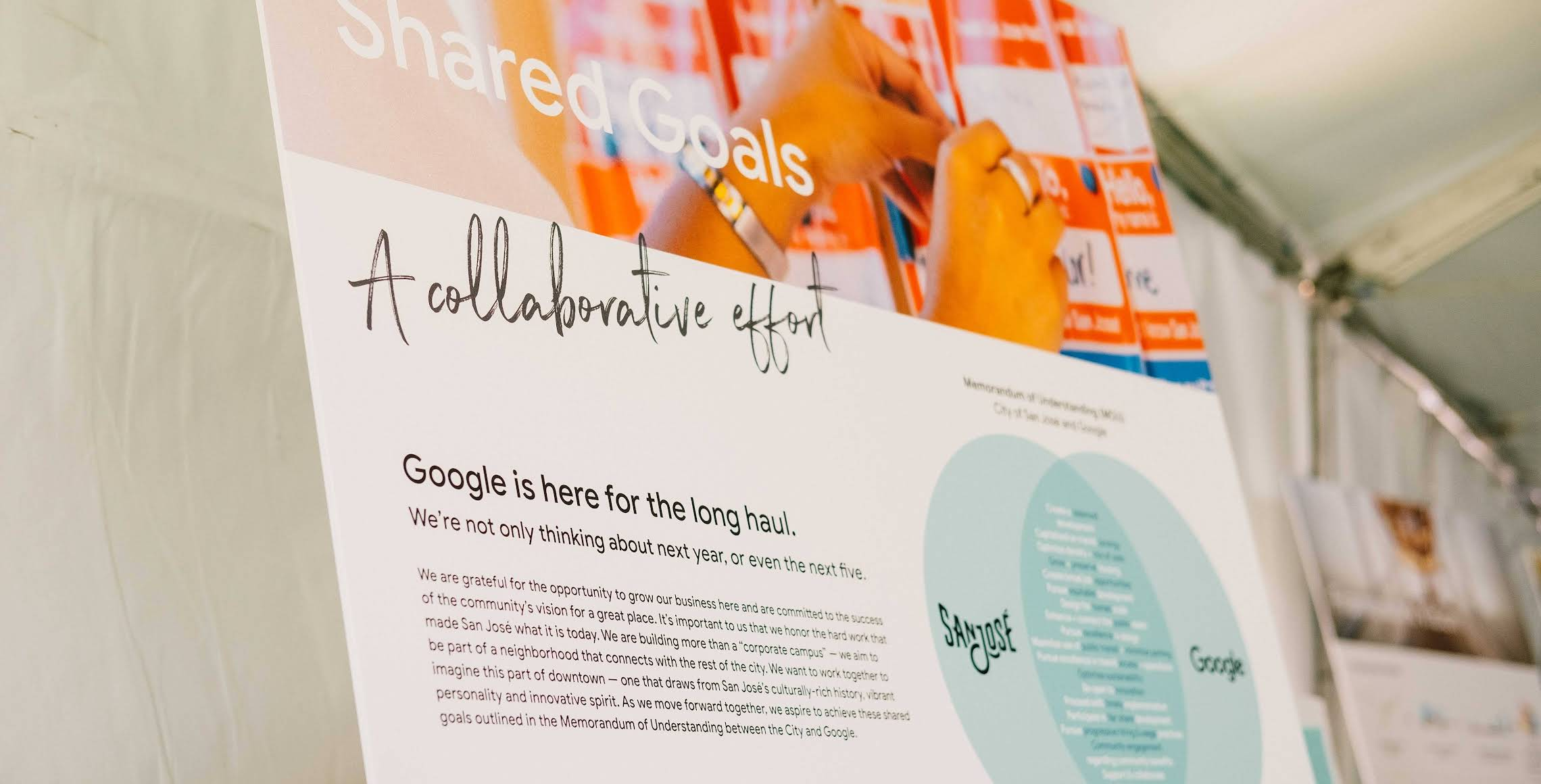 Shared goals of Google's preliminary plan.