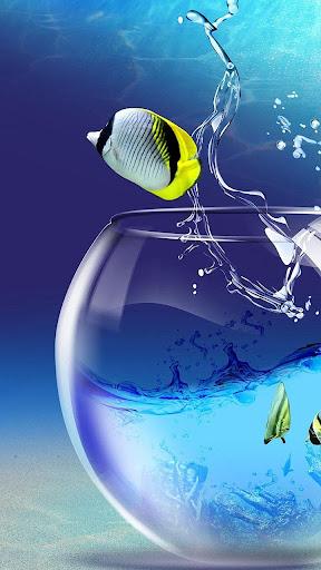 玩個人化App|水族馆动态壁纸免費|APP試玩