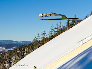 Photo: World Cup Ski flying Vikersund HS225 - Stefan Thurnbichler