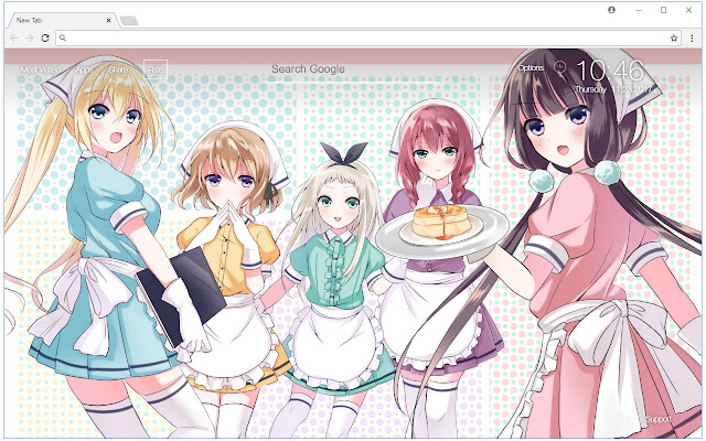 Blend S HD Wallpaper Anime New Tab Themes