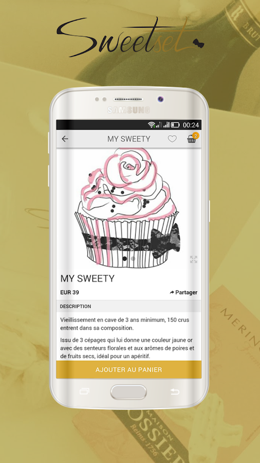 SweetSet- screenshot