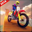 Crazy Bike Stunts Rider : Extreme Bike Race Games icon