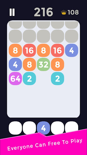 Shoot And Merge 2048 1.1 screenshots 4
