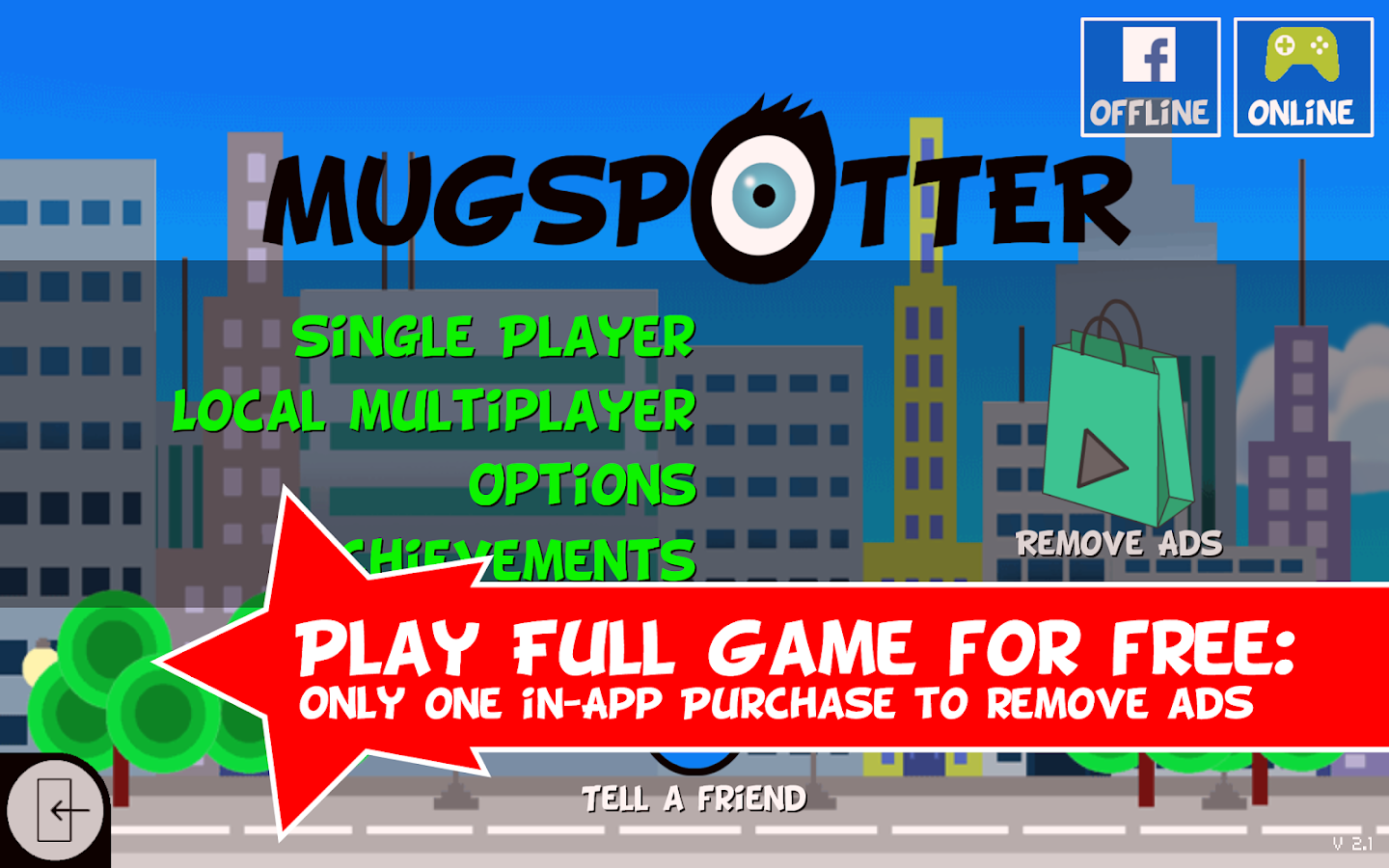 Mugspotter- screenshot
