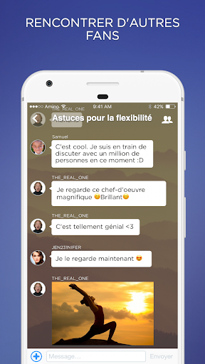 Fitness Amino en Français - screenshot