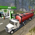 Off Road Oil Truck Transporter icon
