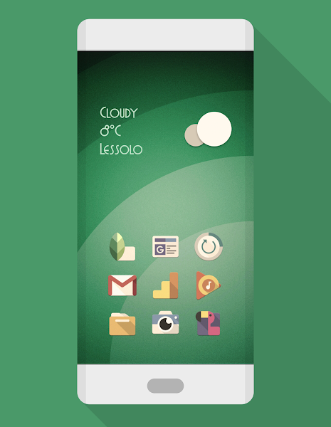 PHIX RETRO – ICON PACK v7.2