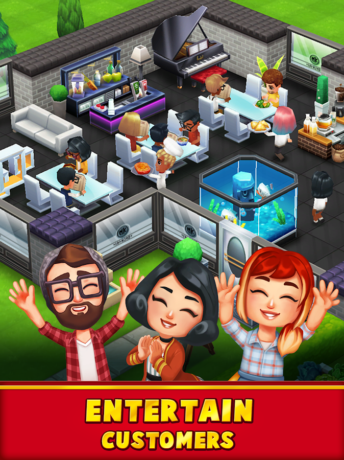 Food Street - Restaurant Game- screenshot